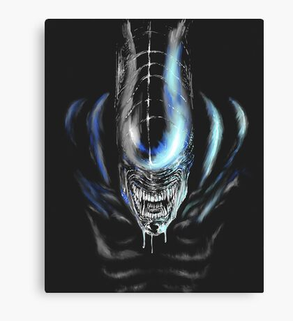Teeth Canvas Print