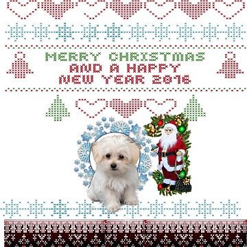 Merry Christmas dog lovers and dog owners by BadranAli
