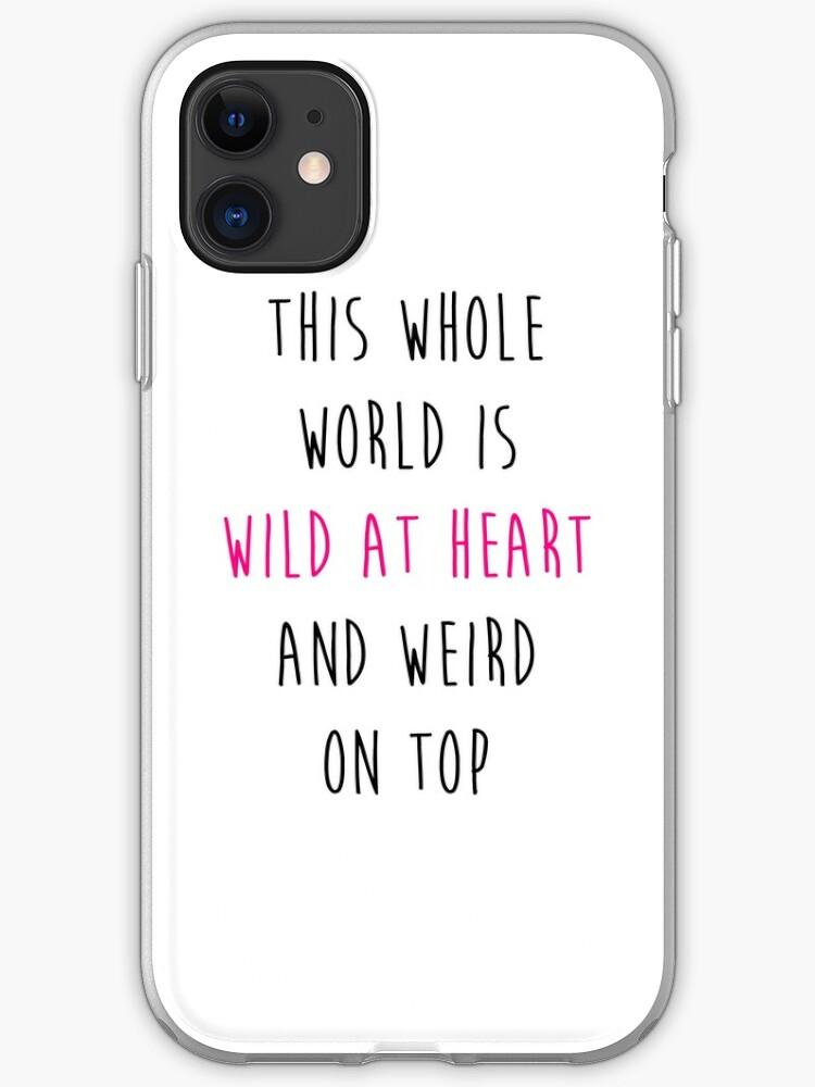 World Of Weird iphone case