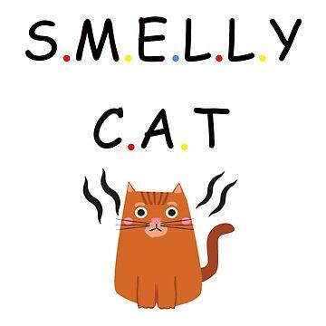 Stinky Cat by jckutter1