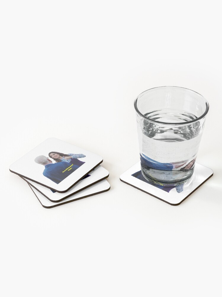 Alternate view of Everything okay? nope Coasters (Set of 4)