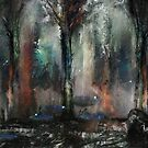 Forest rain by Grant Wilson