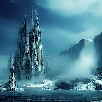 Ice Castle by dawnmvd