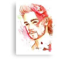 Liam P in color  Canvas Print