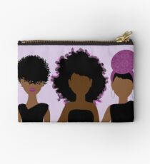 Wrapped in Purple Studio Pouch