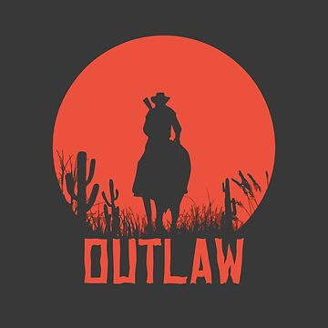 Red Dead Redemption 2 - Outlaw by mymainmandeebo