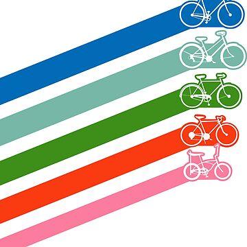 Retro Bike Stripes by freeves