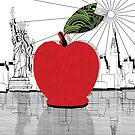 New York...The Big Apple by CecelyBloom