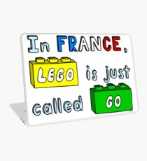 French Lego Laptop Skin