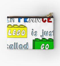 French Lego Studio Pouch