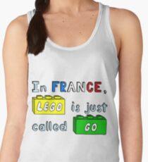 French Lego Women's Tank Top