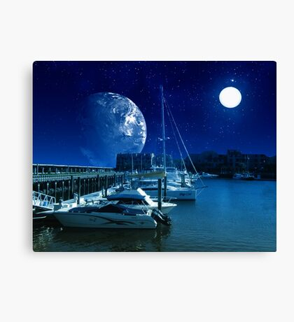 Safe Harbor-Sankris II Canvas Print