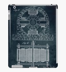 1888 Electro magnetic motor iPad Case/Skin
