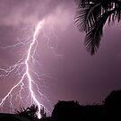 Lightning strike by Andrew Durick