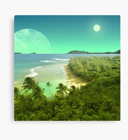 Pele's Paradise - Island in the Sun Canvas Print