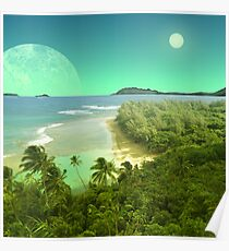 Pele's Paradise - Island in the Sun Poster