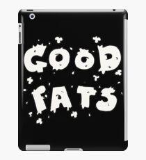 Good Fats iPad Case/Skin