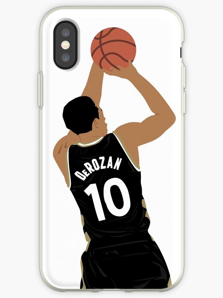 the latest 847a8 4d69d 'DeMar DeRozan' iPhone Case by karencumlat