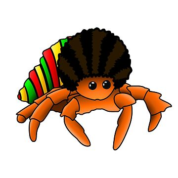 Julian - The Afro Crab! by frozenfa