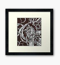 Metal Heart Framed Print