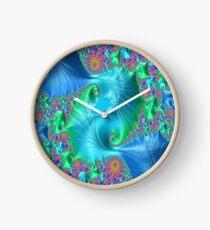 Blue Reef Clock