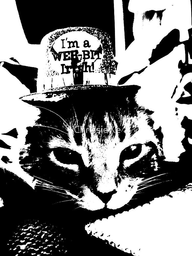 Irish Kitty by ChrissieXe