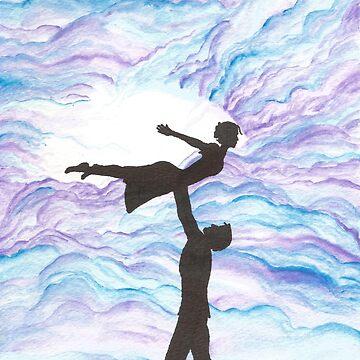 Love Takes Flight by artoftheabyss