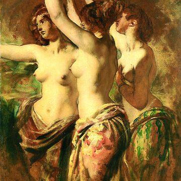 Three Dancing Women by ExpressingSelf