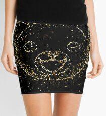 Orange tabby cat orange tabby tabby golden ornament Gold Mini Skirt