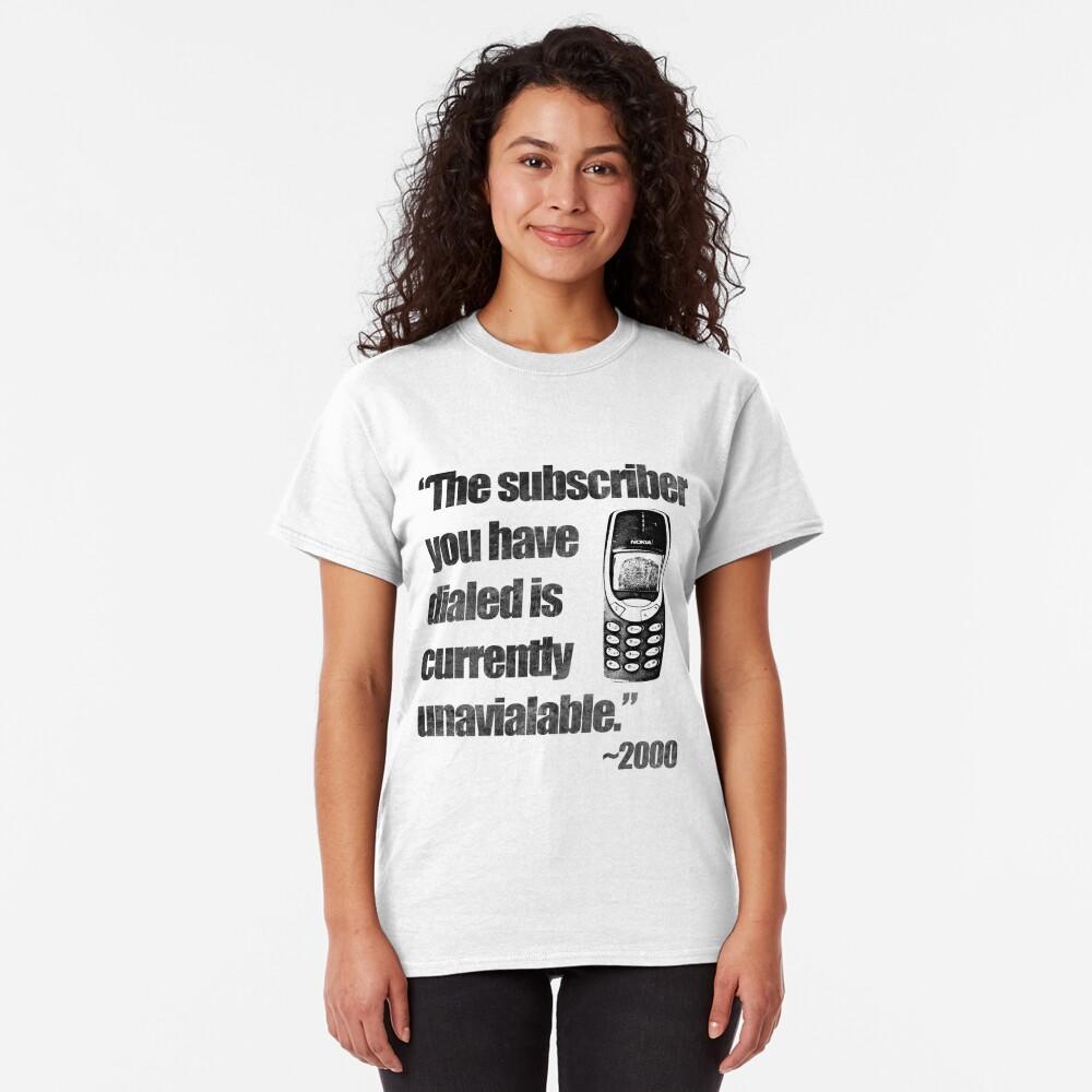2000s Calling Classic T-Shirt