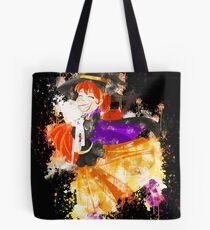 Animal cartoon cat watercolor painted Tote Bag
