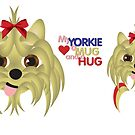 Yorkie Hug by DougPop