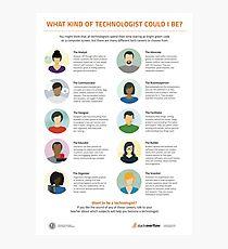 Ten Types of Technologist Photographic Print