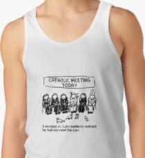 Catholic Meeting Men's Tank Top