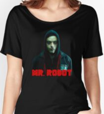 Mr Robot Women's Relaxed Fit T-Shirt