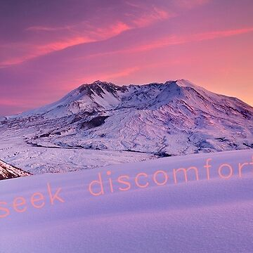 Seek Discomfort by Nolan12