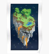 Minecraft HEXELS Poster
