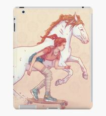 Signe du cheval iPad Case/Skin