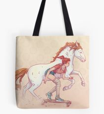 Signe du cheval Tote Bag