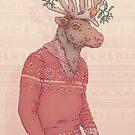 Prancer the Reindeer by HypathieAswang