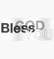 God Bless You Poster
