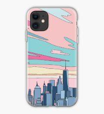 City sunset by Elebea iPhone Case