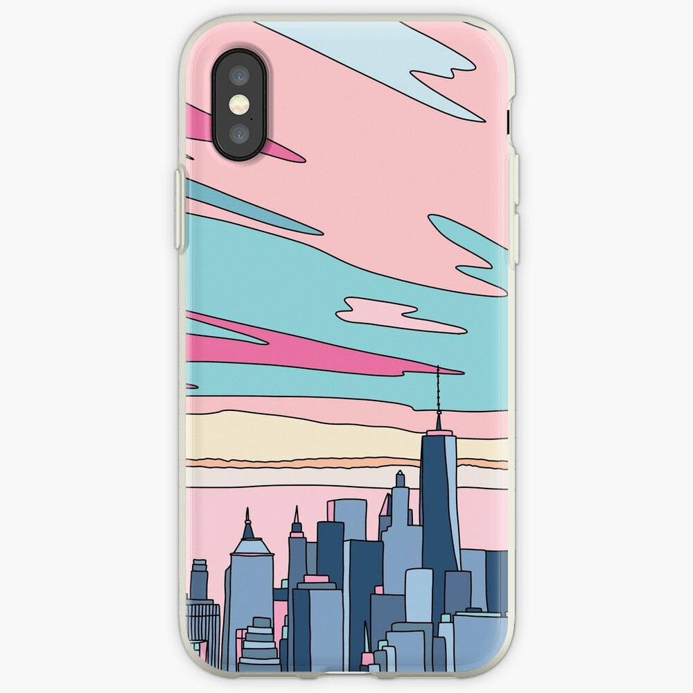 City sunset by Elebea iPhone Case & Cover