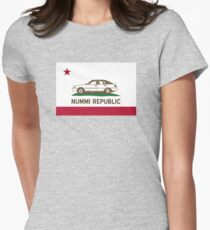 Welcome to the NUMMI Republic! Women's Fitted T-Shirt
