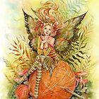 Crochet Companion Fairy von Janna Prosvirina von Jannafairyart