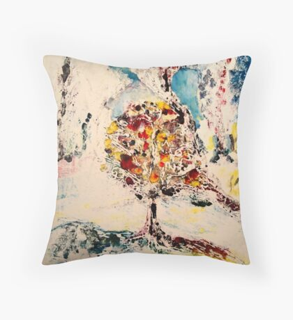 And So It Began Throw Pillow