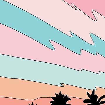 Strand Sonnenuntergang von Elebea von elebea