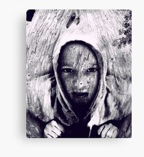 Hood in the Wood Canvas Print