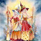 Schwesternschaft des Besens von Janna Prosvirina von Jannafairyart