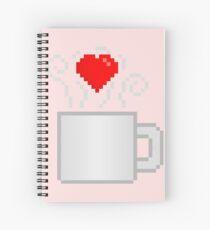 I <3 Coffee Spiral Notebook